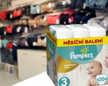 Soutěž o půlroční zásobu plenek Pampers premium care
