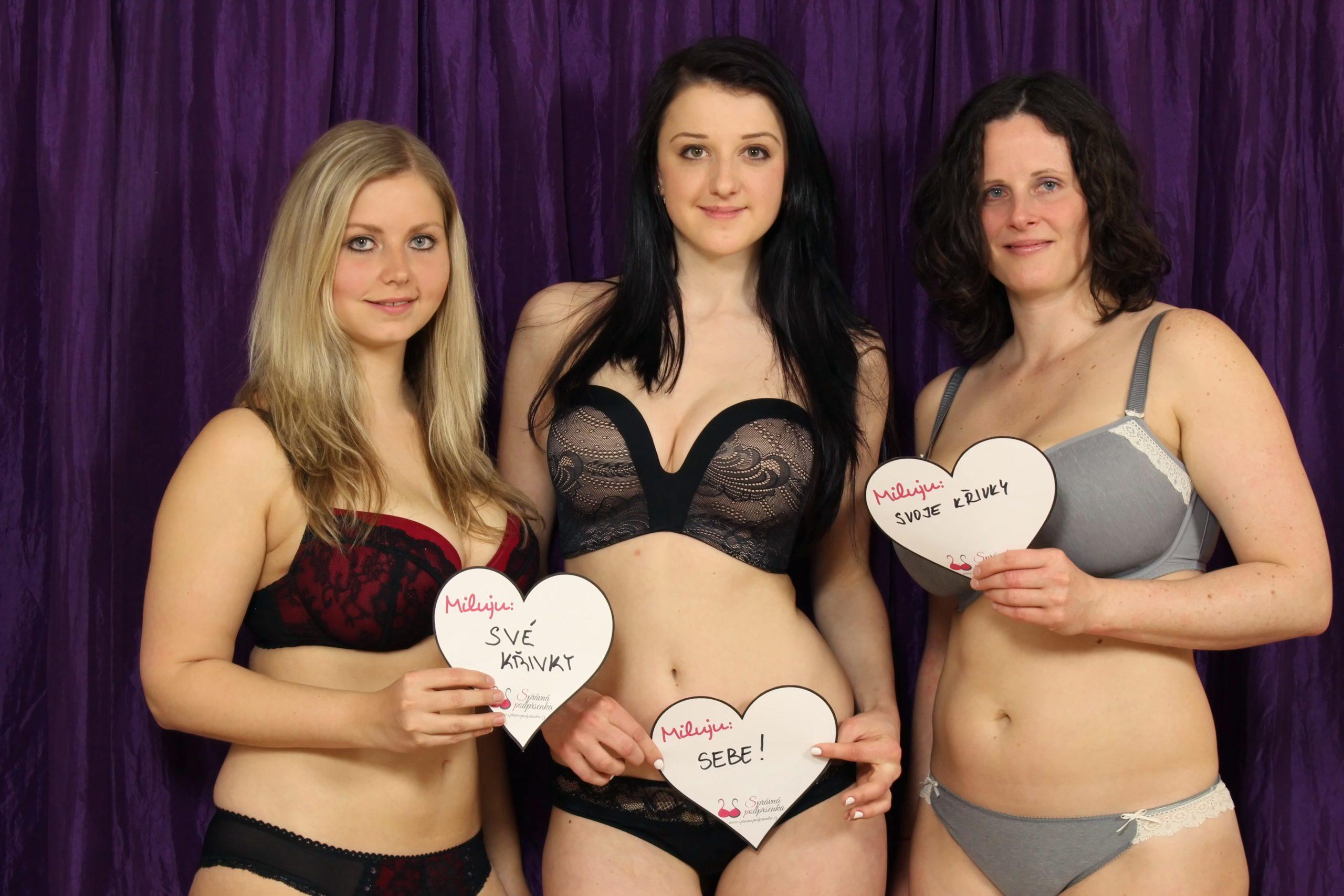 Kampaň The perfect body Správná podprsenka