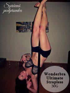 Test podprsenky Wonderbra Strapless recenze